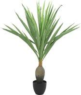 ComfortTrends Kunst plant Yucca Hoogte: 120 cm - Luxe uitvoering