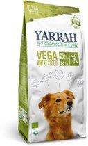 Yarrah dog biologische brokken vega ultra sensitive tarwevrij hondenvoer 10 kg