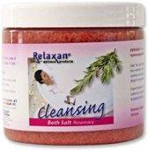 Relaxan dode zee badzout rozemarijn aroma, speciaal voor gebruik in bad of whirlpool