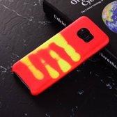 Thermo hoesje Samsung galaxy S8 Rood wordt geel bij warmte