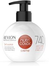 Revlon Nutri Color Creme fles 740 light copper 270ml