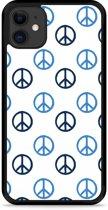 iPhone 11 Hardcase hoesje Peace