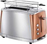 Russell Hobbs 24290-56 Luna Copper Broodrooster - Zilver