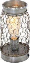Light & Living tafellamp - Staal - Tunas