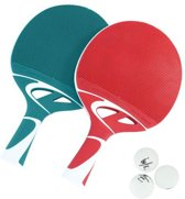 Cornilleau Tafeltennisbat Tacteo Duo Pack - Outdoor