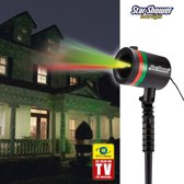 Star Shower Laser Light - 100 meter afstand