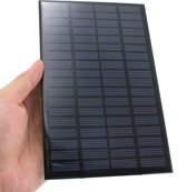 18V 2.5W Polycrystalline Mini Zonnepaneel - Zelf Zonne-energie opvangen