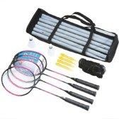 Badmintonset 4 Spelers luxe