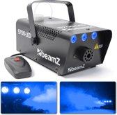 Rookmachine - BeamZ S700 Rookmachine 700W met blauwe LED's voor een schitterend ijs effect