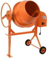 Trend24 - Betonmixer 140 liter 650 W betonmolen oranje