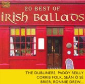 Irish Ballads, 20 Best Of
