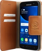 bugatti Booklet Case Amsterdam for Galaxy S7 sand