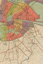 1915 Map of the City of Dublin and Its Environs