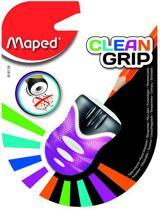 Clean Grip potloodslijper 1-gaats - paars