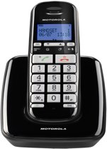 Motorola S3001 Uitgebreide Senioren Single Set - NL - DECT Telefoon - Zwart