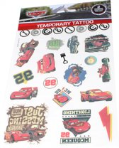 Slammer Cars Lightning Mcqueen Tattoos 1 Vel