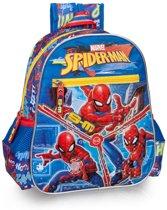 215e7ff6920 Spiderman Junior - Rugzak 29 cm hoog - Blauw en Rood