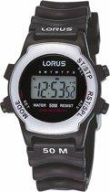 Lorus R2371AX9 - Horloge -  Kunststof - 30 mm - Zwart