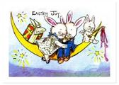 Rabbit Sweethearts on the Moon