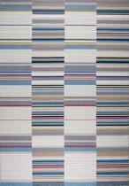 Effen - tapijt of vloerkleed - Bodhi turquoise -wol - 230x160cm