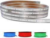LED Strip RGB - 5 Meter - Dimbaar - IP65 Waterdicht 5050 SMD 230V - BSE