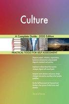 Culture A Complete Guide - 2020 Edition