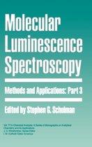 Molecular Luminescence Spectroscopy, Part 3