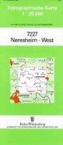 Neresheim West 1 : 25 000