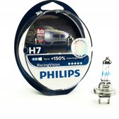 Philips Racing Vision - Auto Koplampset H7 - 12V 55/60W