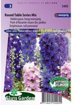 Sluis Garden Ridderspoor Round Table Series Mix (delphinium)
