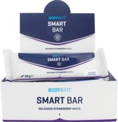Body & Fit Smart Bars - 1 doos - Strawberry White Chocolate