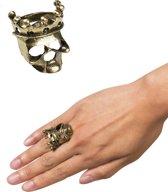 18 stuks: Ring Doodshoofd kroon