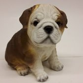 Beeldje Bulldog van Farmwood 16 cm hoog