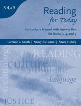 Instructor's Manual for Reading for Today: Issues for Today/Concepts for Today/Topics for Today