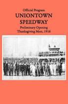 Uniontown Speedway Program, 1916