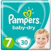 Pampers Luiers Baby Dry Maat 7 - 30 Stuks