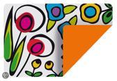 Zak!Designs Wild Flora Dubbelzijdige Placemat - 45 x 30 cm - Multi