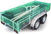 relaxdays Aanhangernet - Net aanhanger/ aanhangwagen - 2x3 meter / rekbaar tot 3,8x4,2 m.