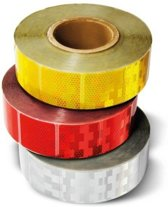Reflecterende Tape Red - Per meter