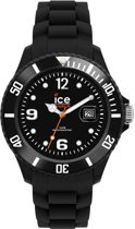 Ice-Watch Sili Forever Black Unisex SI.BK.U.S.09 - Horloge - Zwart- Ø 41 mm