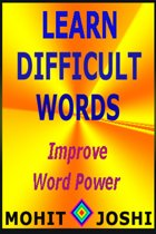 Learn Difficult Words: Improve Word Power