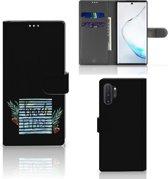 Samsung Galaxy Note 10 Plus Leuke Hoesje Boho Beach