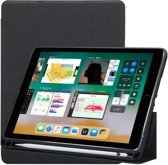 Mobigear Stylus Bookcase Zwart Apple iPad (2018) / iPad (2017)