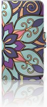 Hoesje iPhone 6 | 6s Design Purple Flower