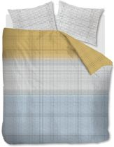 Comfortabel Katoen Dekbedovertrek Thijm Grijs | 240x200/220 | Fijn Geweven | Ademend  En Zacht