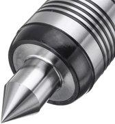 MT2 0,02 inch Nauwkeurigheid Stalen draaibank Live Centre Taper Tool Triple Bearing