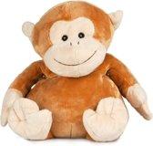 Warmteknuffel - lavendel - tarwe aap