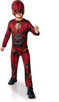 Justice League™ Flash kostuum voor kinderen - Verkleedkleding