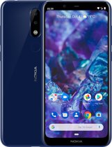 Nokia 5.1 Plus - 32 GB - Blauw