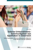 Externe Unternehmenskommunikation Von Apotheken in Osterreich